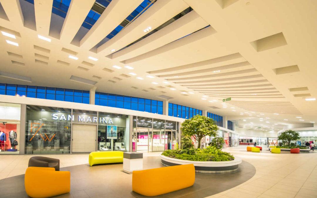 Centro comercial en Francia